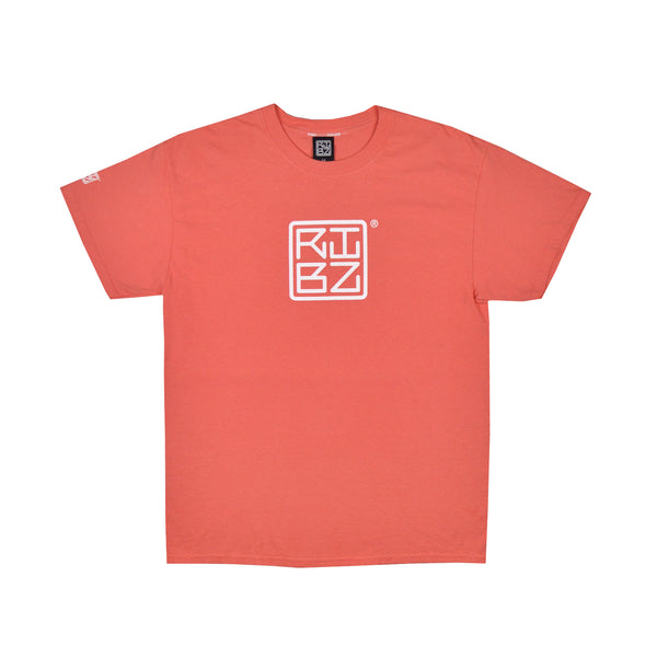 Large Logo [Salmon] Tee