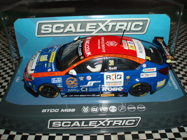 C3736 Scalextric MG6 BTCC Triple 8 Racing