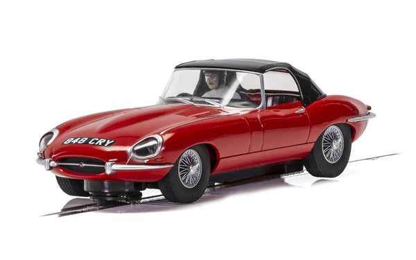 Scalextric C4032 Jaguar E-Type Red