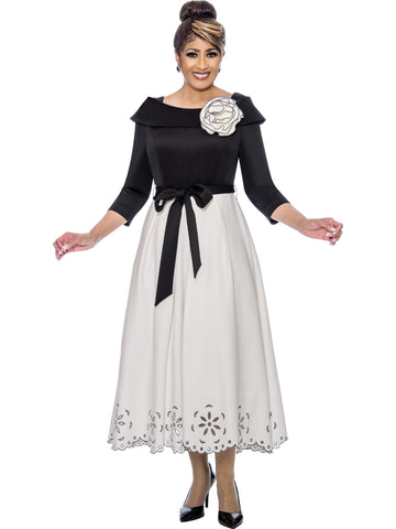 Black and White Dress, Dorinda Clark Cole DCC Rose Collection