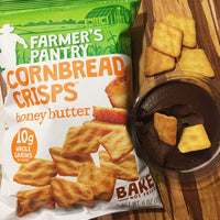 Honey Butter Cornbread Crisps, 6 oz