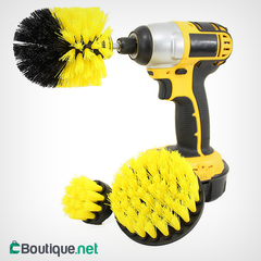 Brush ForceDrill set de 3 brosses de nettoyage