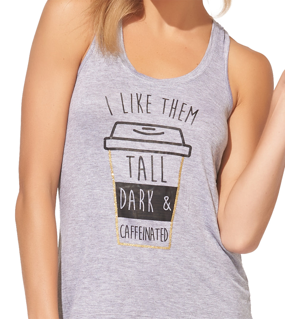 Tobie Short Set in TALL DARK CAFFEINATED