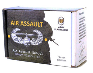 Air Assault Study Flashcards | Sabalauski Air Assault School Handbook | February 2018
