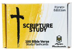 Agape Flashcards Scripture Study