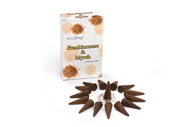 Frankincense & Myrrh Incense Cones