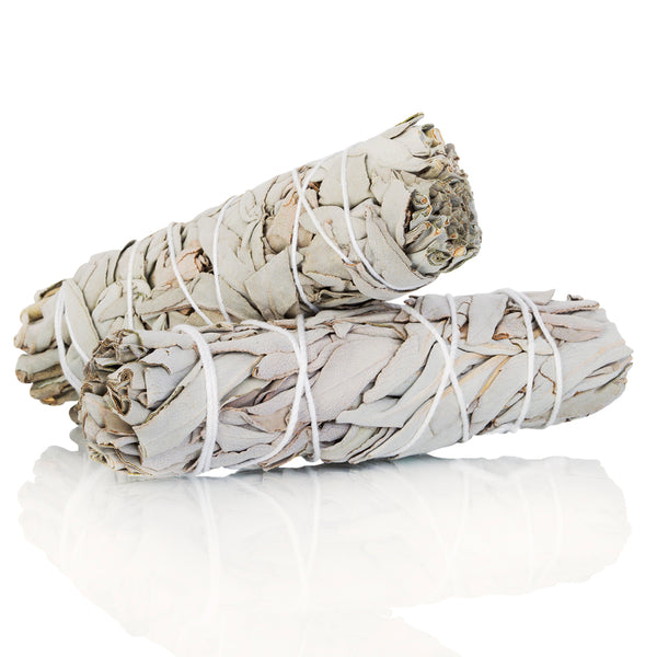 Medium White Sage Smudge Stick - 4""