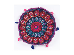 Mandala Mediation Cushion - Purple