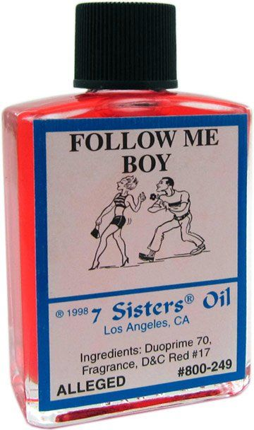 Follow Me Boy Oil