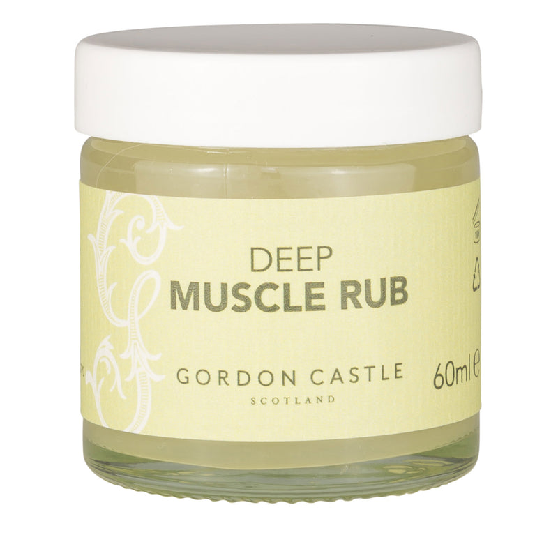 Gordon Castle Scotland Aromatherapy Deep Muscle Rub