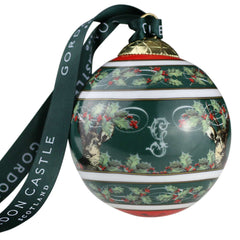 Gordon Castle Scotland Halcyon Days Christmas Bauble