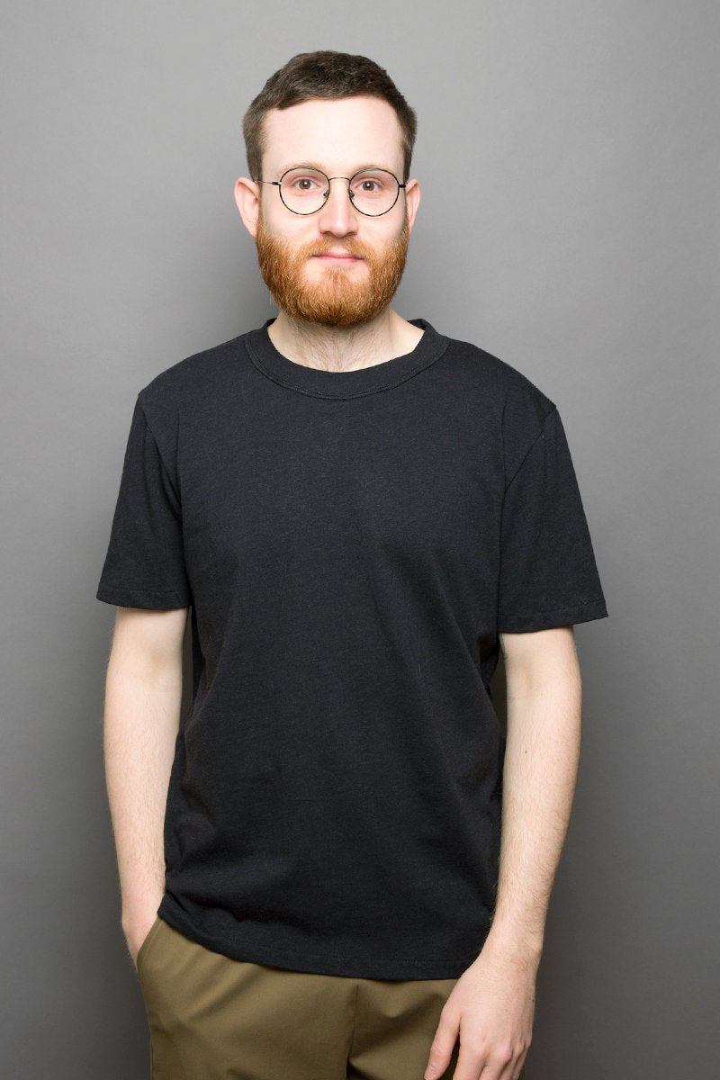 Wool Loose Fit T-Shirt graphite