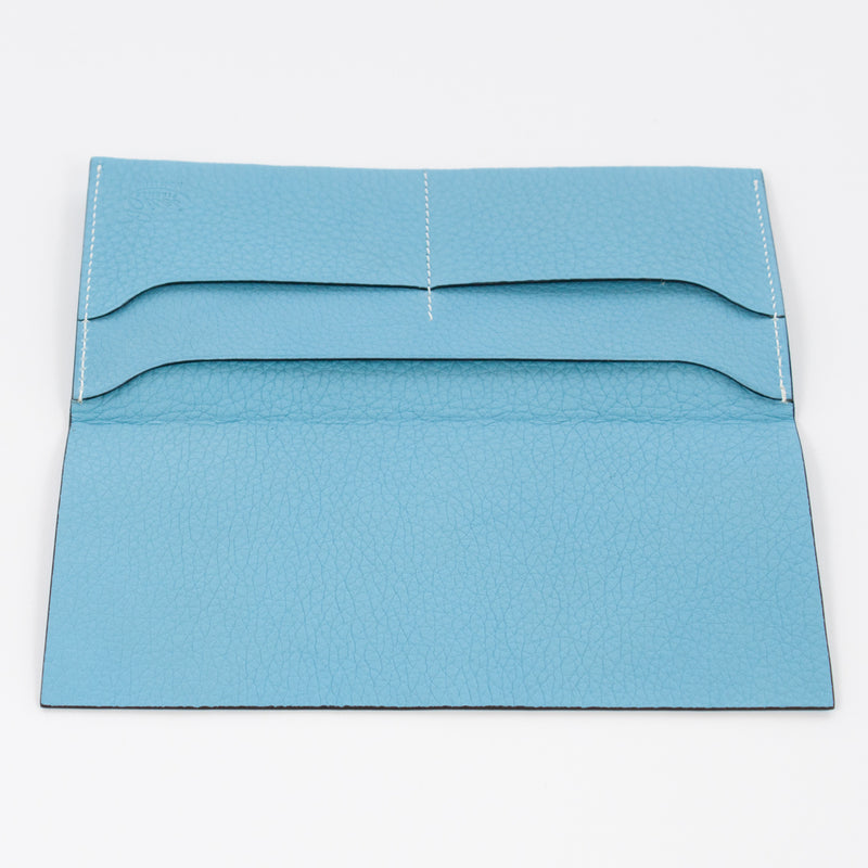 P1027 LD THIN LONG WALLET Col.Celeste
