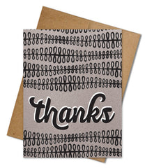 Eco-friendly Thank You Cards (Single)