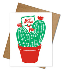 Eco-friendly Holiday Cards (Single)