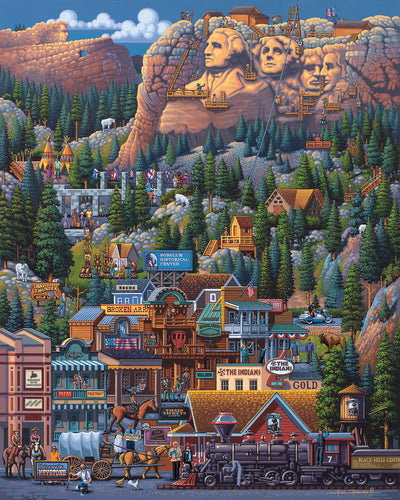 The Black Hills - Fine Art