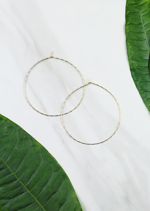 Atlas Hoops - Jules Smith - 14K Gold Plated - Boho Jewelry