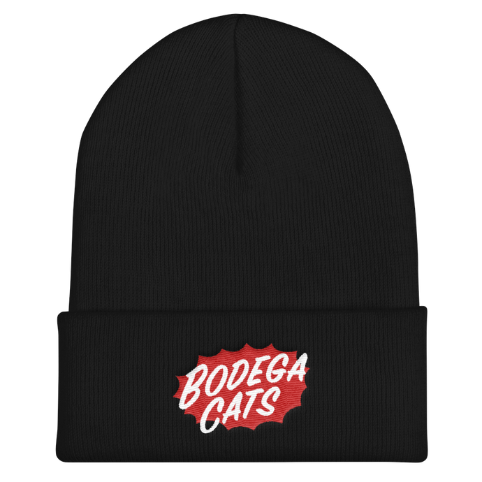 BAM Embroidered Beanie