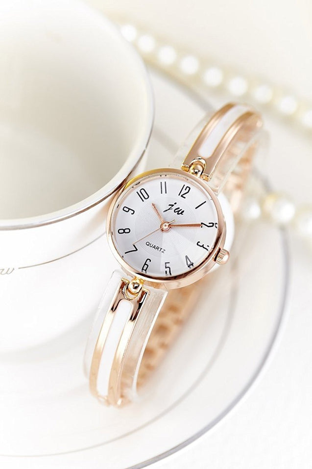 Addic Blushing Bride Studded RoseGold Girls & Women's Watch.