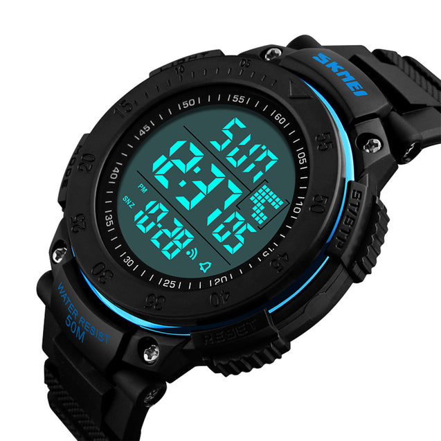 Skmei Military Style Digital Multi-functional Sports Watch for Men's & Boys