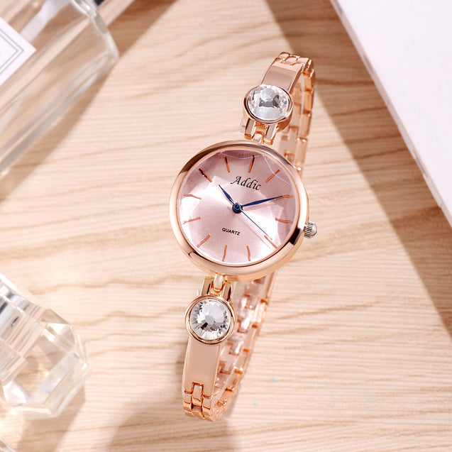 Addic Pinkish Hues Office Cum Casual Watch For Women & Girls