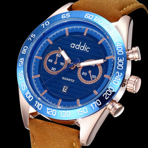 Addic Rugged Blues Macho Men's Watch MW