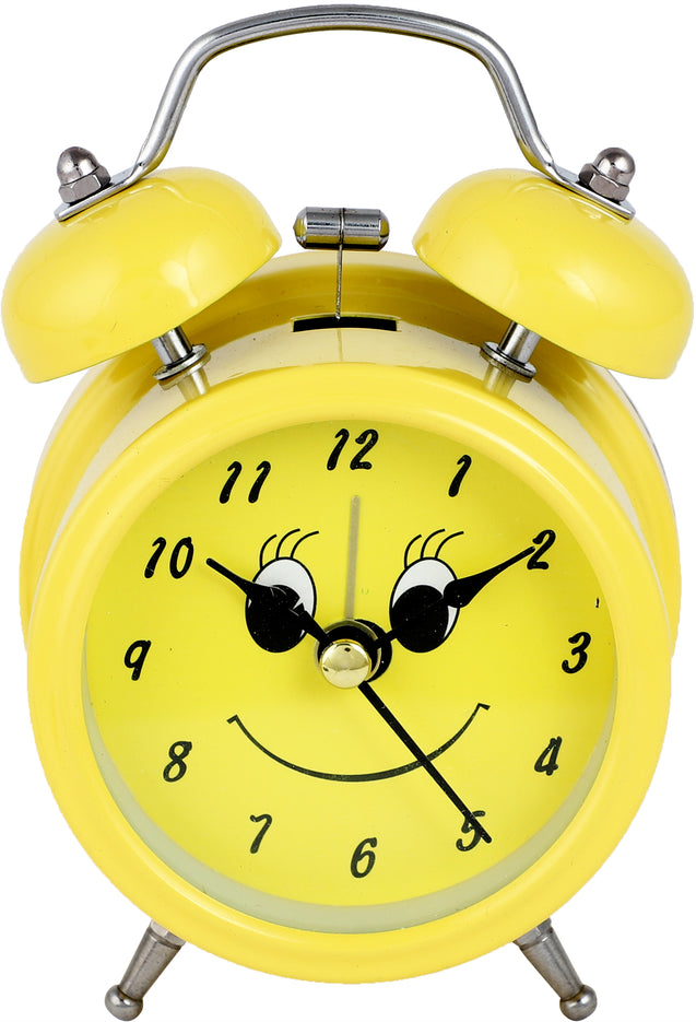 Addic Sunshine Have a Great Day Table Clock With Alarm (Alarm Clock For Bedside, Study Table, Home Decor & Gifts)