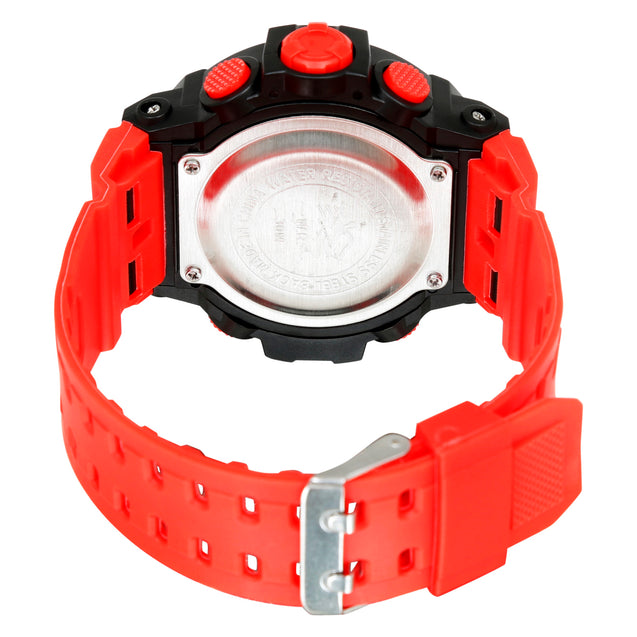Time Wrap Red Speed Multi Function Black & Red Digital Wrist Watch For Men & Boys