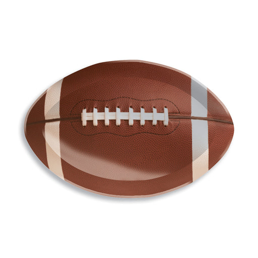 Football 12 Pk Shaped Plastic Tray Display Box/Case of 12