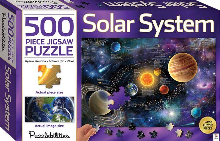 Puzzlebilities Solar System 500pc will help your kids minds and your puzzles skills.