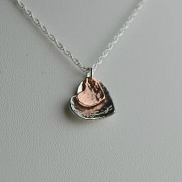 Copper Heart Necklace