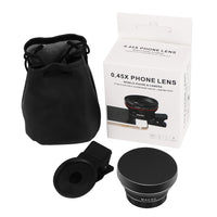 Powstro Phone Lens Kit Clip-on Cellphone Camera
