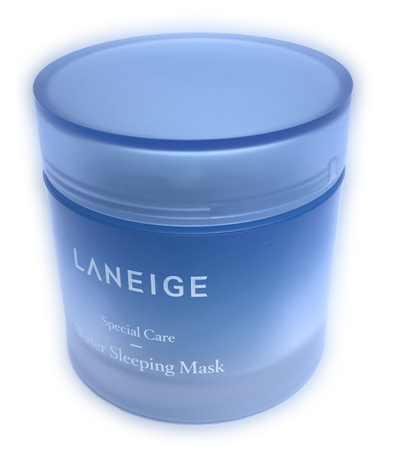 Laneige Water Sleeping Mask - 70ml Skin repair while you sleep, with their patented technology SLEEP-TOX, MOISTURE WRAP and SLEEPSCENT.  Promotes a hydrated skin while optimizing your skins detox function and helps with relaxation to ease you to a deep slumber