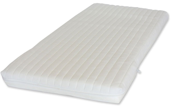 Ambassador Foam Crib Mattress Waterproof liner - Washable Microfibre Cover - Cot Mattress Company
