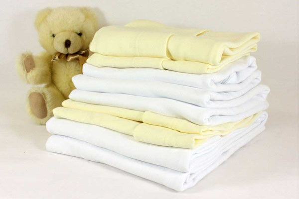 100% Cotton Fitted Sheets – Crib White - Cot Mattress Company
