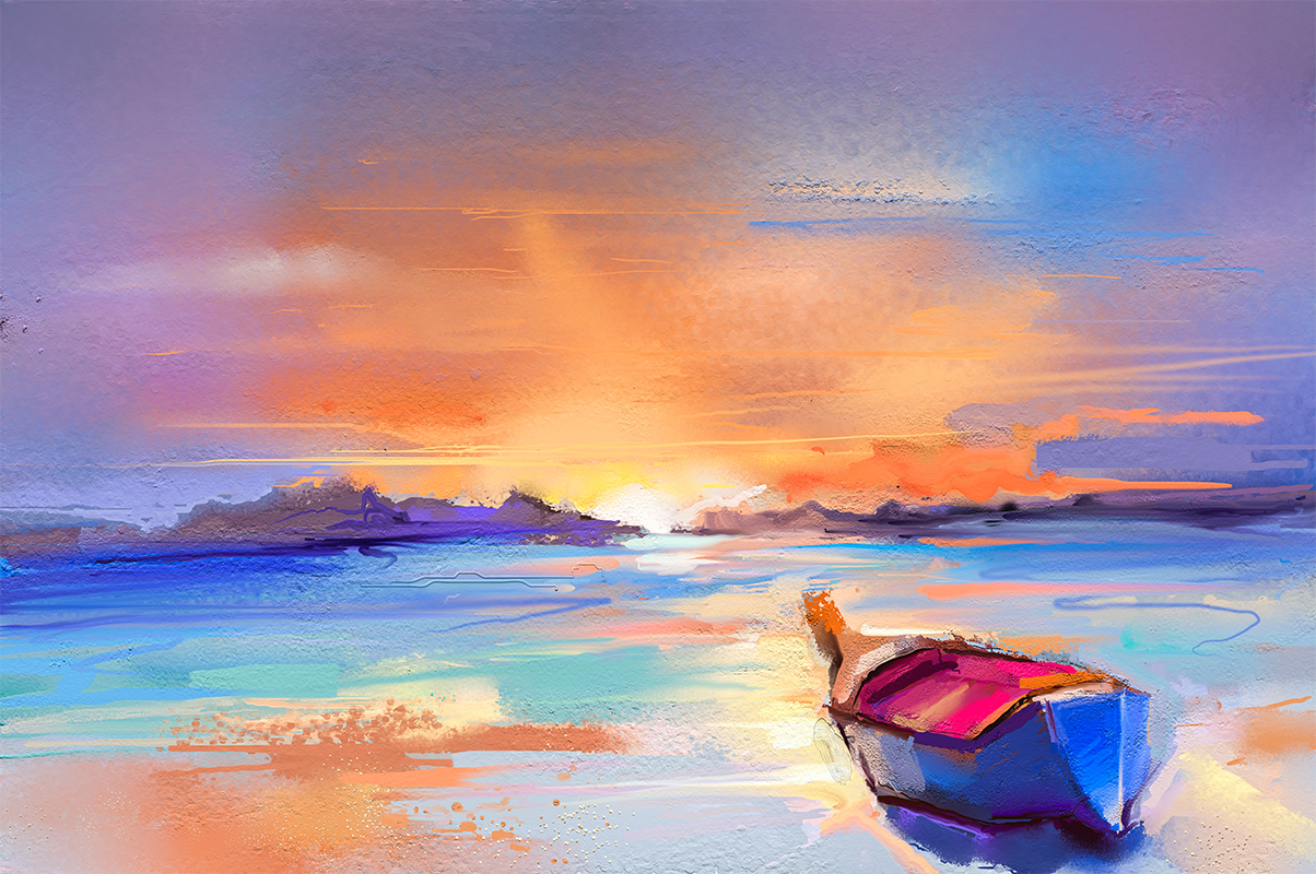 """Beached In Pastel"" - Art & Light"
