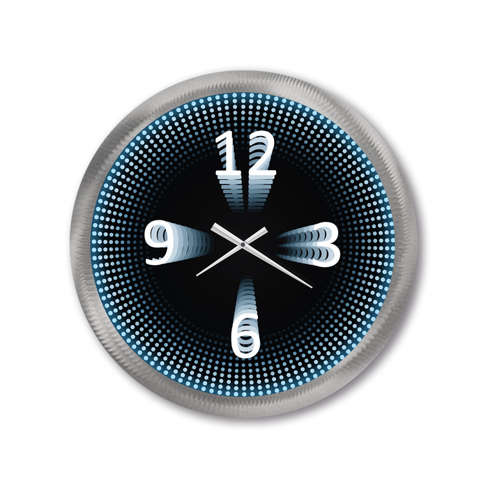 """Infinity Numbers"" - Wall Clock"