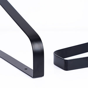 Love-KANKEI Floating Shelves Wall Mount  Set of 2 Carbonized Black