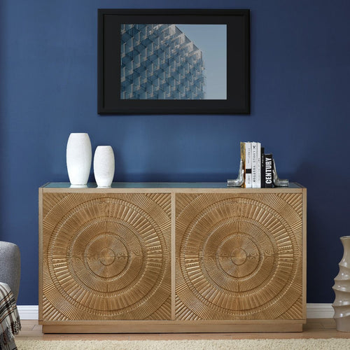 Frenso 4 Door Sideboard - Gold
