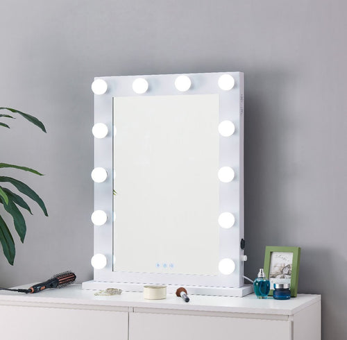 Hollywood Mirror - White