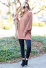 top, tee, casual, fall, winter, long sleeves, solid, rust, orange, cozy, comfy, trendy, conservative, shopping, gameday, everyday, scoop neckline, light, spandex, rayon, polyester, neutral