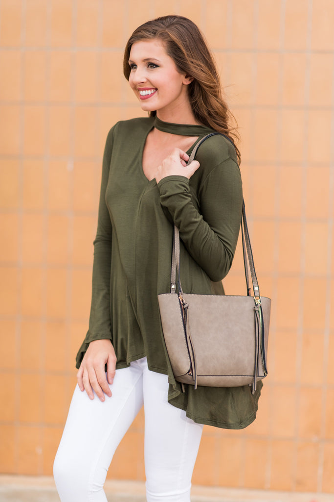 When I'm With You Top, Olive