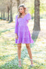 Totally Off The Charts Dress, Lavender