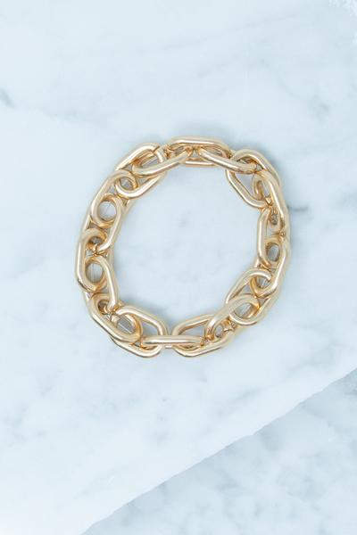 Linked To Love Bracelet, Gold