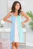Summer Living Dress, Mint-Multi