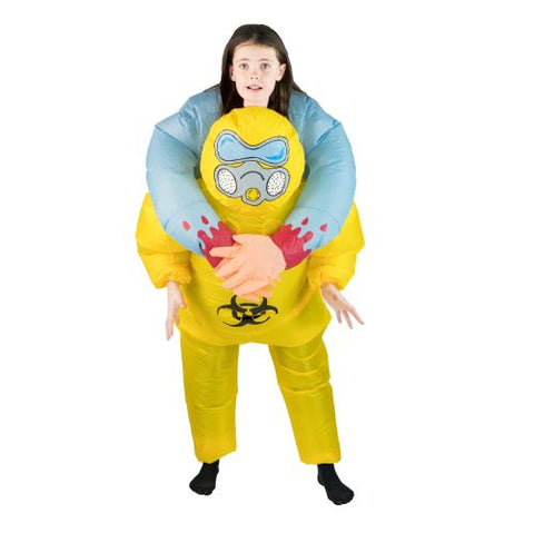 Bodysocks - Kids Inflatable Bio-hazard Costume