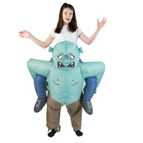 Bodysocks - Kids Inflatable Troll Costume