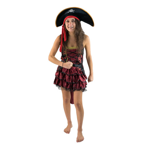 Bodysocks - Women's Posh Pirate Costume