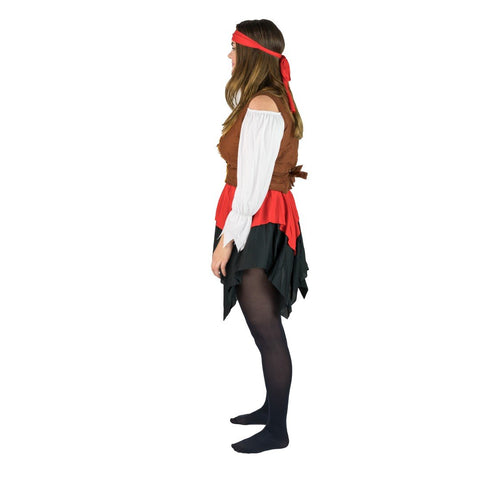 Women's Buccaneer Pirate Costume