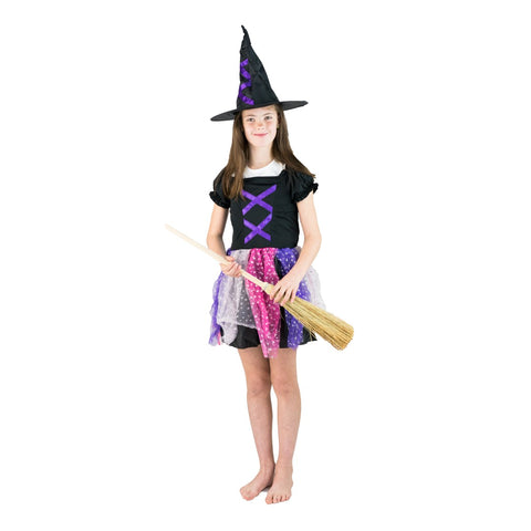 Bodysocks - Kids Witch Costume